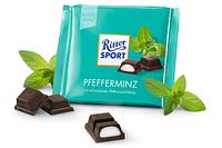 Шоколад Ritter Sport Pfefferminz 100 г. Германия!