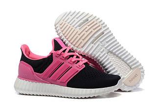 Кроссовки женские Adidas Yeezy Ultra Boost / ADW-995 (Реплика)