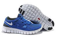 Кроссовки Nike Free Run 2.0 Blue Синие мужские