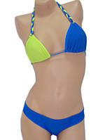 Яркий двухцветный купальник, фото 1