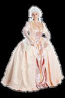 Исторический женский костюм 18 века с каркасом панье
