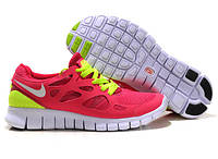 Кроссовки Nike Free Run 2.0 Pink Розовые женские