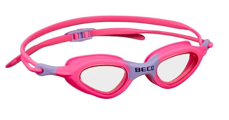 Детские очки для плавания Beco Biarritz фиолетовый/розовый 9930 477