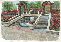 Концепция на озеленение и благоустройство парка Городской сад