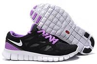 Nike FreeRun 2.0 Черный / Фиолетовый