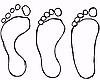 Как определить правильно длину ступни?