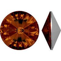 Стразы Swarovski темный топаз, SS3 (1400 шт)