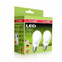 Лампочка LED A50 7W E27 Набор 1+1