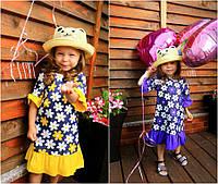 Детское летнее платье мод.0102 (р.98-122)