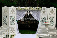 Оформление цветами и тканями, эксклюзивный свадебный декор в аренду