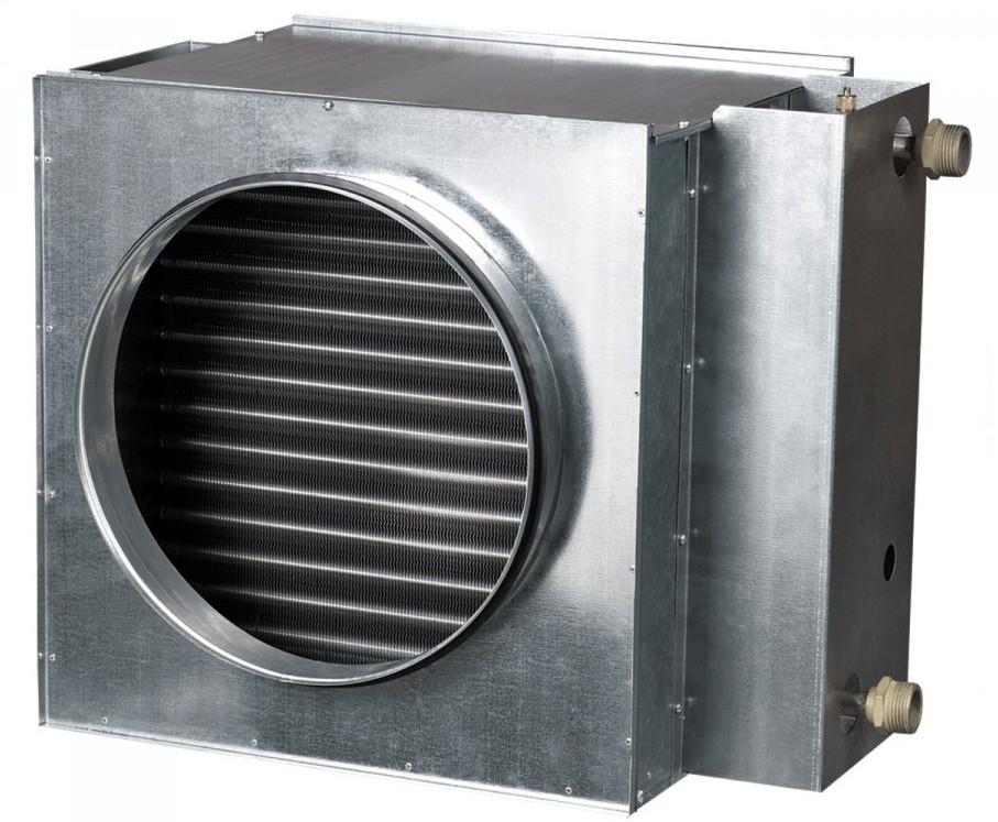 ВЕНТС НКВ 160-4 - круглый водяной нагреватель