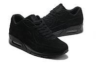 Кроссовки Nike Air Max 90 VT Black Черные Замш мужские