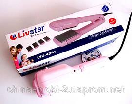 Выпрямитель для волос Livstar  LSU-4041 со сменными насадками ( 25 ВАТТ) , фото 2