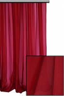 Тюль шифон однотонный красный А51