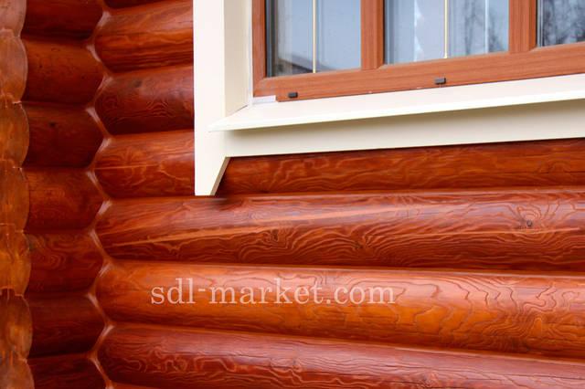 Покраска деревянного дома 4