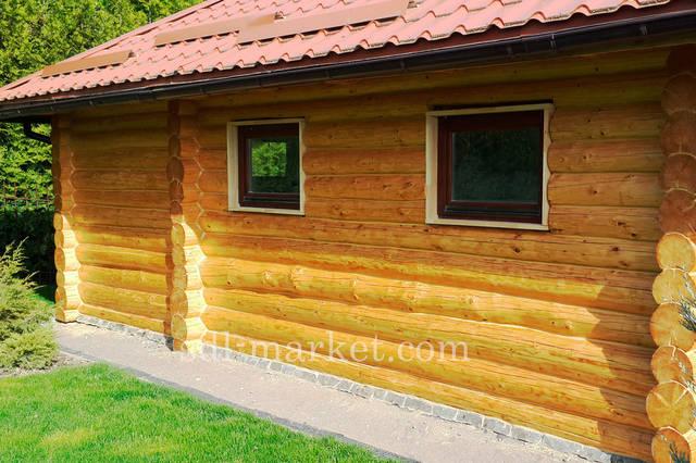 Покраска деревянного дома 5