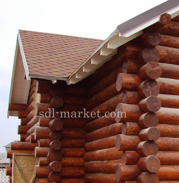 Покраска деревянного дома 9