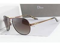Солнцезащитные очки Dior (коричневая оправа)