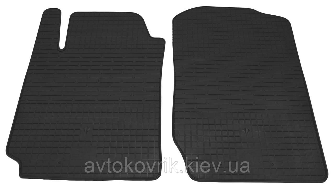 Резиновые передние коврики в салон Suzuki Grand Vitara II 2005- (STINGRAY)