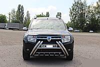 "Кенгурятник ""Рога"" Renault Sandero"
