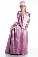 Платье женское с турнюром исторический костюм