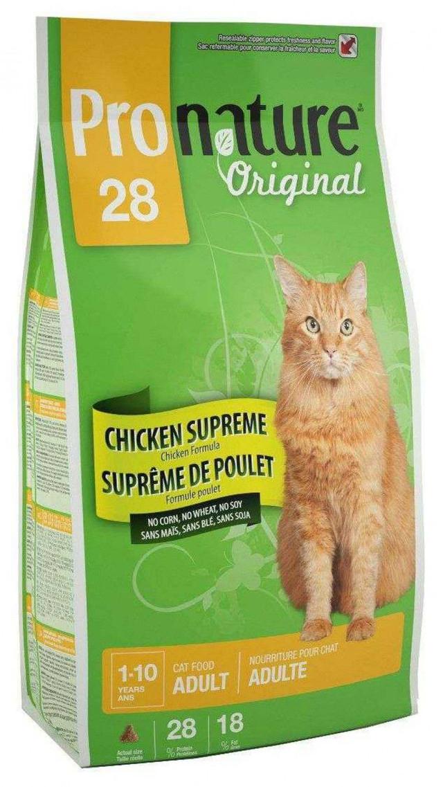 Корм для кошек ProNature Original Chicken Supreme 28