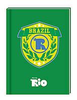 """Блокнот """"Rio"""", А5, 80 листов, RI00270-04, в клетку картон с поролоном"""