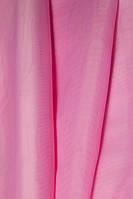 Тюль шифон однотонный розовый А21