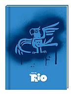 """Блокнот """"Rio"""", А6, 80 листов, RI00271-02, в клетку картон с поролоном"""