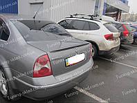 Спойлер Volkswagen Passat B5 Milotek (спойлер на багажник Пассат Б5)