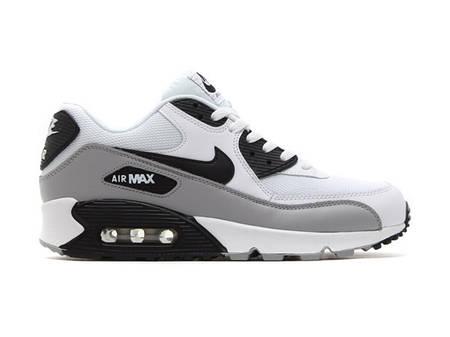 Кроссовки Nike Air Max 90 White Black Серые мужские купить цена в ... 98b2f2927c9