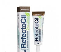 RefectoCil Sensitive Eyelash & Eyebrow Tint Medium Brown. Коричневый 15 мл