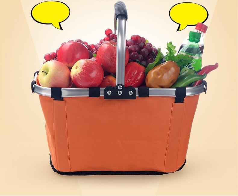 Складная сумка-корзина Fold Basket orange