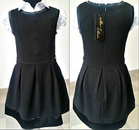 Красивое школьное платье