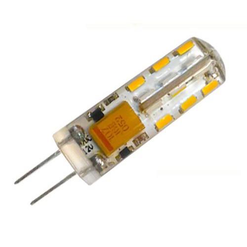 Светодиодная лампа Biom G4 1.5W 2800К 12V в силиконе Код.58670