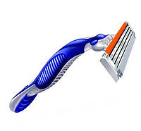 Одноразовый бритвенный станок Gillette Blue 3  с тремя лезвиями, фото 1