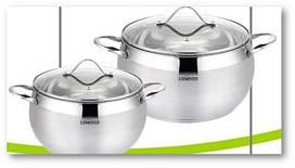 Набор посуды 4 предмета 55857 2л 4л Lessner