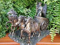 Коллекционная статуэтка Veronese Богиня победы Ника в колеснице WU75088A4