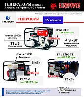Малошумные электроагрегаты Europower