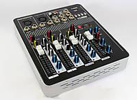 Аудио микшер Mixer BT-4000 4ch.+BT, микшерный пульт