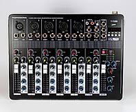 Аудио микшер Mixer BT-7000 4ch., микшерный пульт