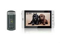 Комплект Цветной видеодомофон PC-705R2 (PC-668H) Встроенный блок питания