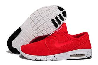 Кроссовки Nike Stefan Janoski Red Красные мужские