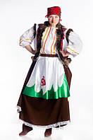 Баба Яга карнавальный женский  костюм