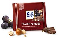 Шоколад Ritter sport Trauben nuss 100 г. Германия!