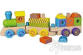 Конструктор Viga Toys Поезд 50572B