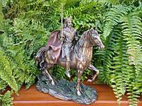 Коллекционная статуэтка Veronese Король Артур на коне WU76721A4