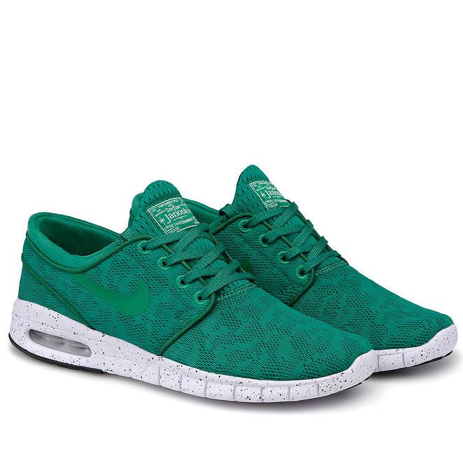 Кросівки Nike Stefan Janoski Green Зелені чоловічі