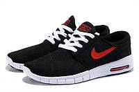 Nike Air Max90 Stefan Janoski Black / Red logo