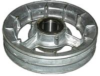 Шкив натяжной измельчителя барабана РСМ-10.14.00.160В ДОН-1500 (2-х руч. D=250 мм) алюминиевый